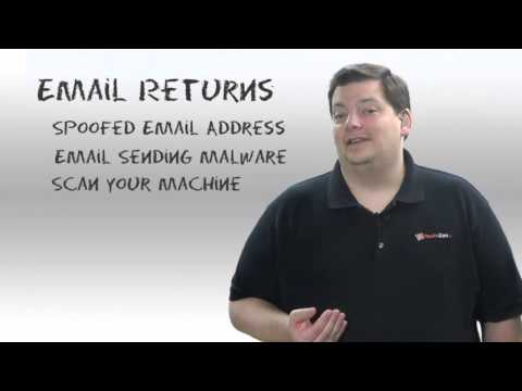 Email Spoofing And Bounces