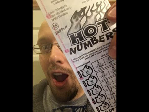 TWO Nice Winners on $5 Hot Numbers -  FAST Play - PA Lottery
