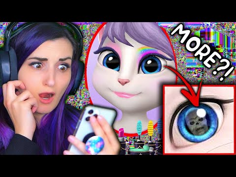 Testing ANOTHER Creepy Talking Angela App Theory *DO NOT DOWNLOAD*