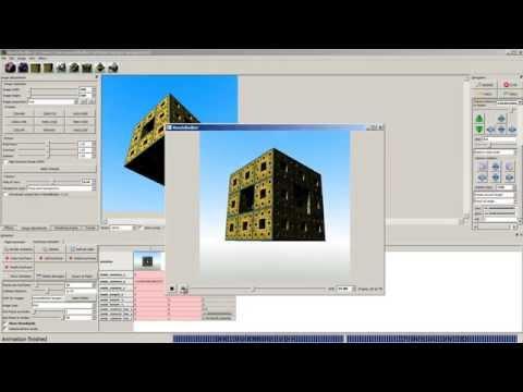 Mandelbulber Introduction Partie 2 Camera, animation