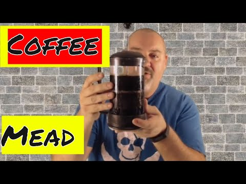 How to Make Coffee Mead   Small Batch Coffee Mead