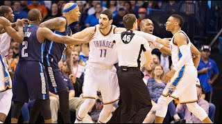 Russell Westbrook Craziest Fights Compilation (Warning)