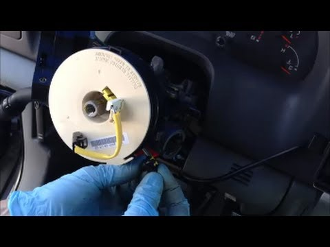 ford galaxy wiring diagram mazda steering column airbag clockspring repair - superduty 1999 & up youtube