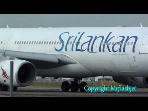 SriLankan Airlines A330-200 {4R-ALB} at London Heathrow Airport