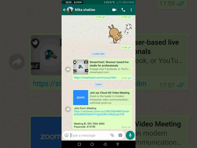 Cara Join Zoom Meeting Android Phone Confirm Boleh Dengar Audio
