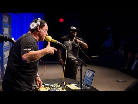 DJ Yella and Lil Eazy E at the Newseum