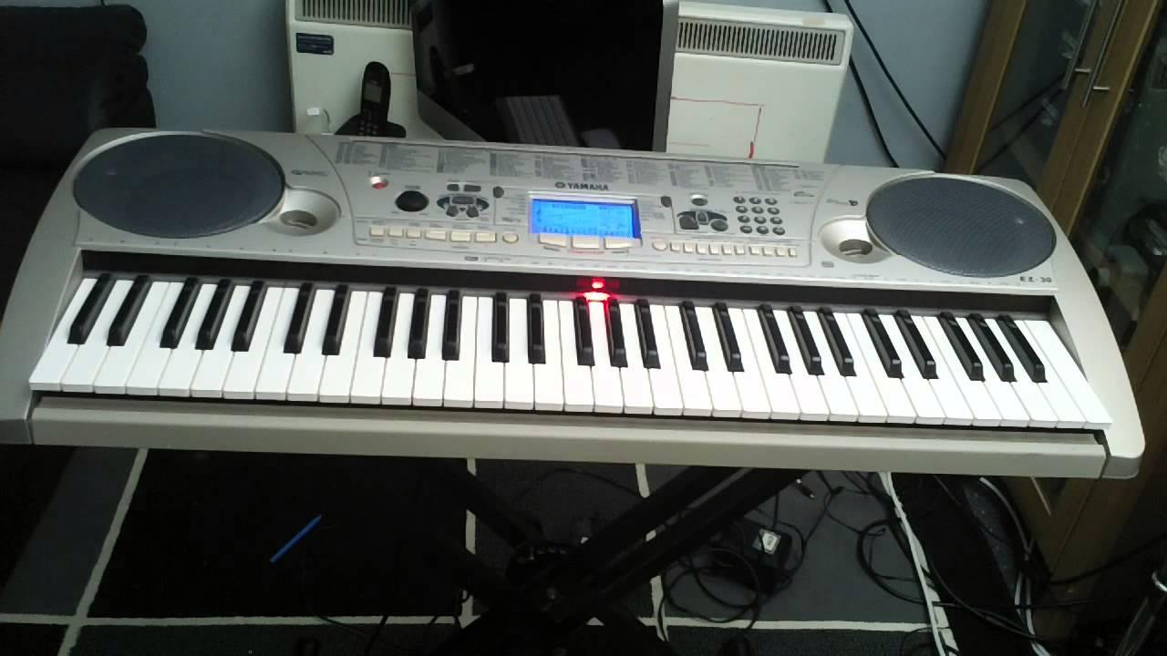 Yamaha ez 30 keyboard 100 demonstration songs part 2 5 for Yamaha keyboard parts