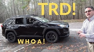Review of 2020 RAV4 TRD Off-Road - it rocks!