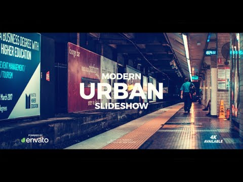 After Effects Template: Modern Urban Slideshow