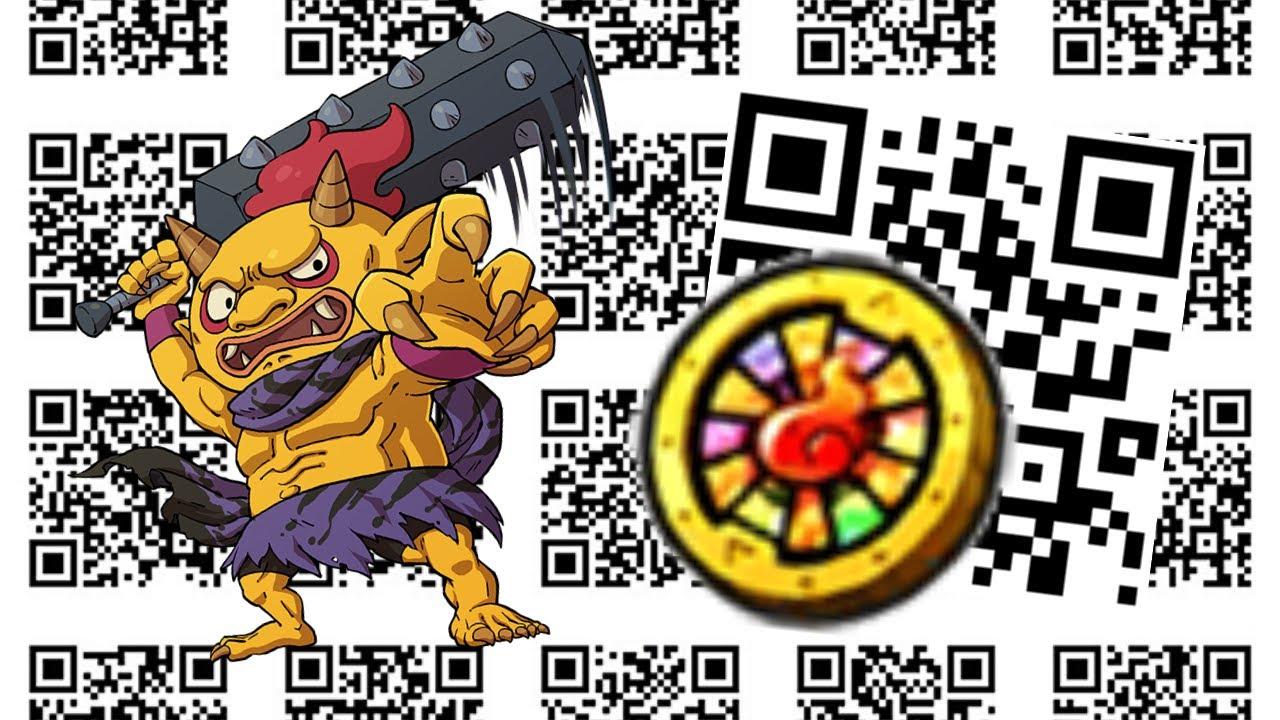 yo kai watch 3 qr codes coins