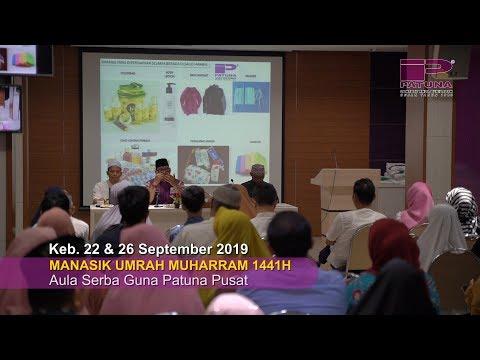 Hari Kedua Manasik Haji Mujamalah 2019 Patuna Travel yang diselenggarakan pada 20-21 Juli 2019 di As.