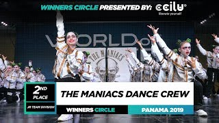 The Maniacs Dance Crew 2nd Place JR Team | World of Dance Panama Qualifier 2019 | #WODPANAMA
