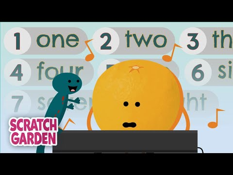 The Spelling The Numbers Song | Counting Songs | Scratch Garden