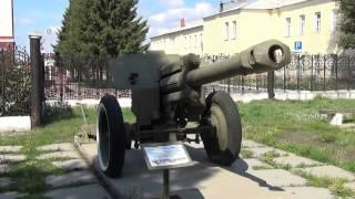 Гаубиця Д-1 - артилерія Великої Вітчизняної війни - Музей військової слави омичів