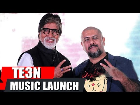 KYUN RE Song Launch | TE3N | Amitabh Bachchan, Vishal Dadlani | FULL EVENT
