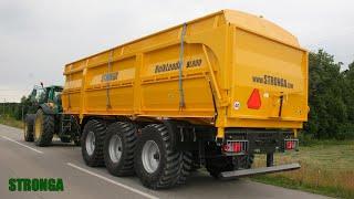 Stronga BulkLoada BL800 2WT agricultural trailer – High capacity tri-axle tipper trailer