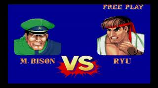 Street Fighter 30th Anniversary (PS4) - SF2 Champ Edition M. Bison Playthrough