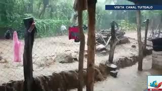 Tormentas Willa y Vicente dejan lluvias e inundaciones en México Video 2018