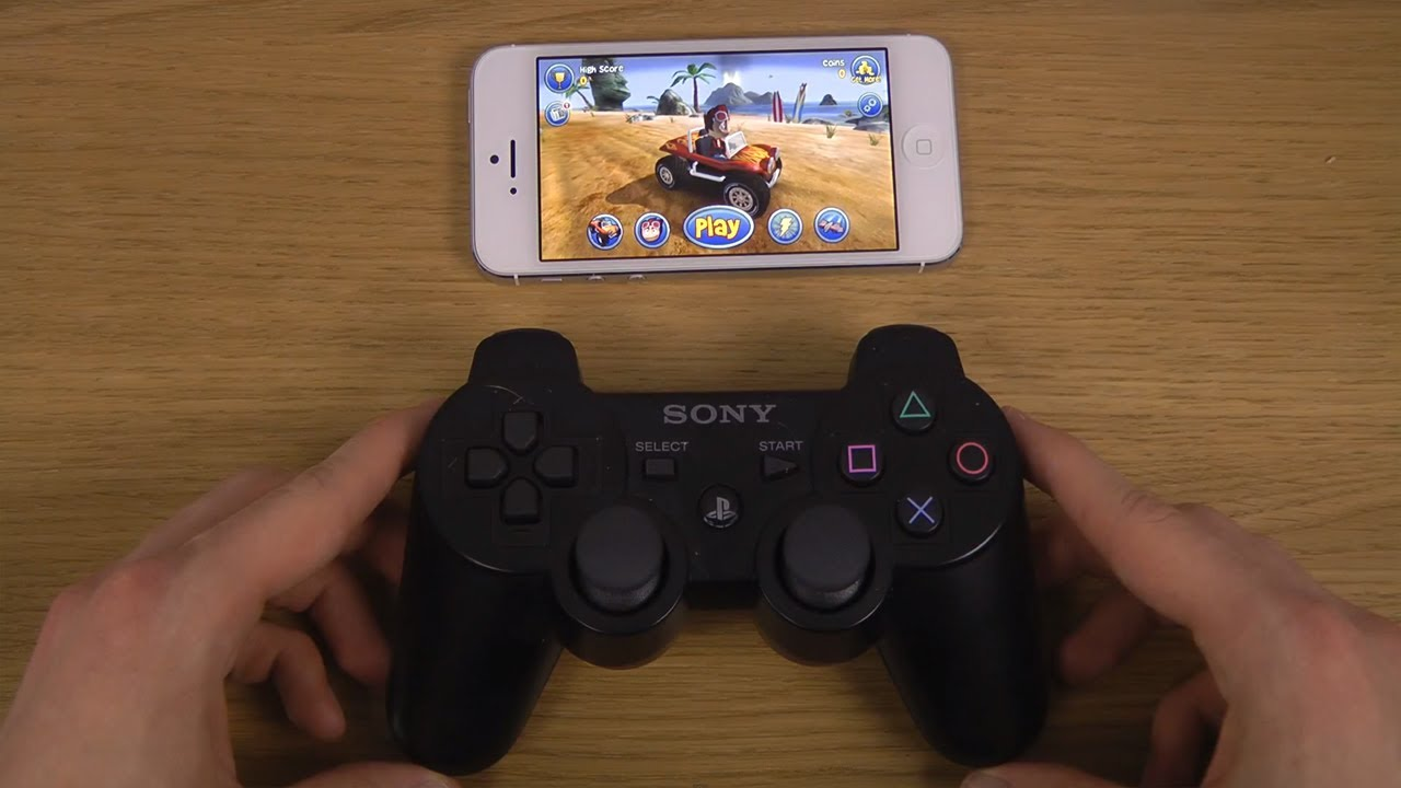 control ps3 with iphone buggy blitz iphone 5 ios 7 ps3 controller gameplay 9960