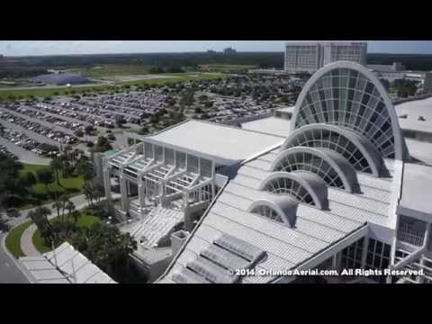 Orange County Convention Center by Air [HD]