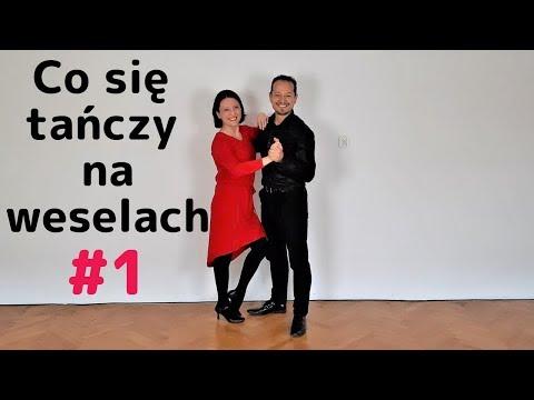 Co się tańczy na weselach #1 proste kroki 1 na 1 i co zrobić, gdy partner szarpie