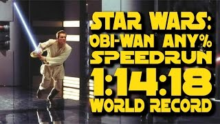 Star Wars: Obi-Wan Speedrun Any% in 1:14:18 (CURRENT WORLD RECORD)