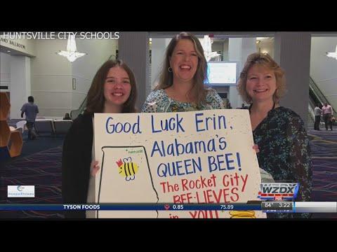 Huntsville's own Erin Howard named co-champion of Scripps National Spelling Bee