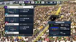 Madden NFL 16: Ravens @ Packers-Play Like A Raven