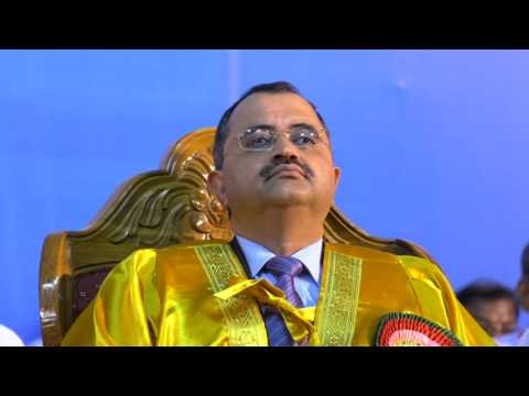 University of Madras - 159th Annual Convocation Held on 15.07.17 (Sat) First part  1/5
