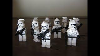 Посылка из США! Армия Лего Клонов! (Lego Star Wars 40 Clone Troopers)