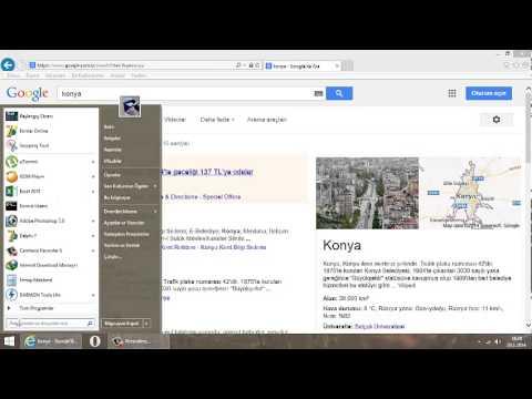 Internet Explorer Türkçe Dilinde Arama Yaptırmak(adres Satırından)