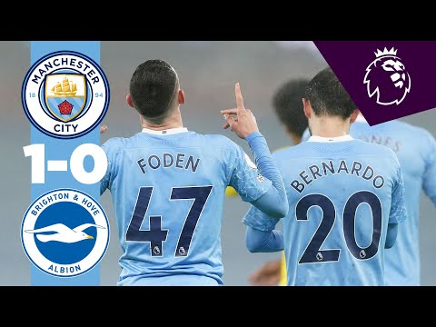 HIGHLIGHTS | CITY 1-0 BRIGHTON | FODEN IS THE DIFFERENCE