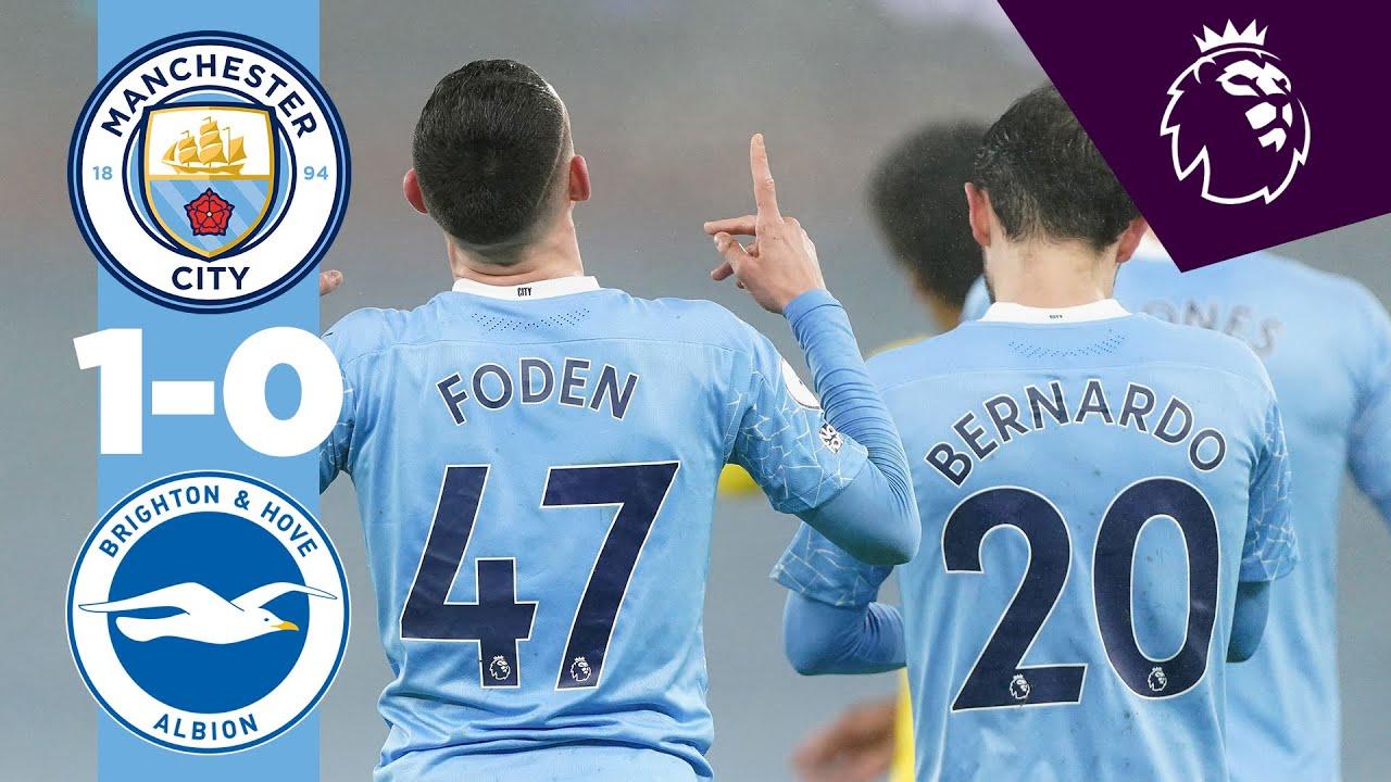 Манчестер Сити  1-0  Брайтон энд Хоув Альбион видео