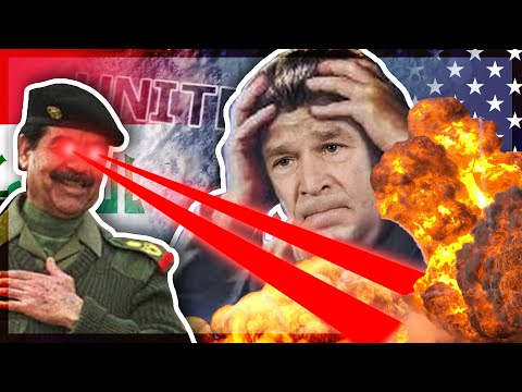 I Gave Saddam Hussein WMD's And It Ended The World | HOI4 Hearts Of Iron 4 |