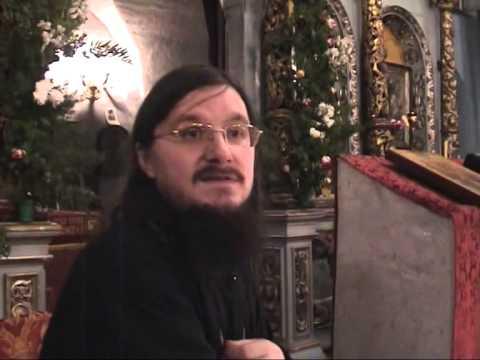 Беседа в Светлый четверг - Иерей Даниил Сысоев 2006г.