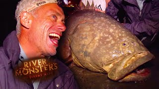 Catching a Giant Grouper - River Monsters