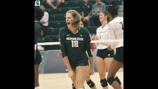Michigan State vs Oakland Volleyball Promotional Video