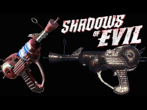 "DOUBLE RAY GUN! ""Black Ops 3 Zombies"" Shadows of Evil Dual Ray Gun"