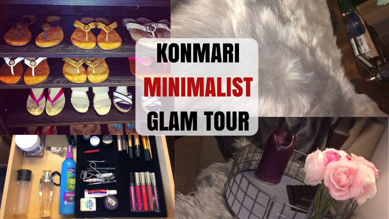 Konmari minimalist glam home tour favorite rooms youtube for Minimalist home tour
