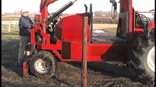 Self-propelled Fence Building Machine
