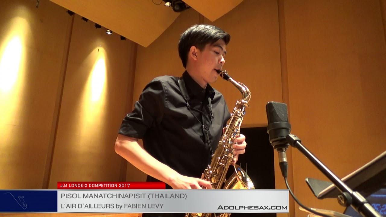 Londeix 2017 - Semifinal - Pisol Manatchinapisit (Thailand) - L'air d'ailleurs by Fabien Levy