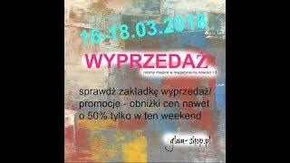 CZYSZCZENIE MAGAZYNU - nawet - 50% TYLKO W TEN WEEKEND glam-shop.pl