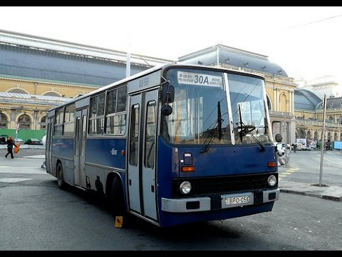 Buses in Budapest, Hungary 2015 (various models)
