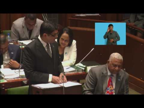 2017-2018 National Budget Address: Increase for Fiji Police Force