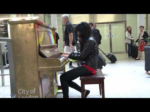 Street Piano: Mozart Alla Turca Jazz by Fazil Say (Arr. AyseDeniz)
