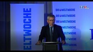 Thilo Sarrazin in Wien: Er spricht das an, wovor die FPÖ schon immer gewarnt hat.