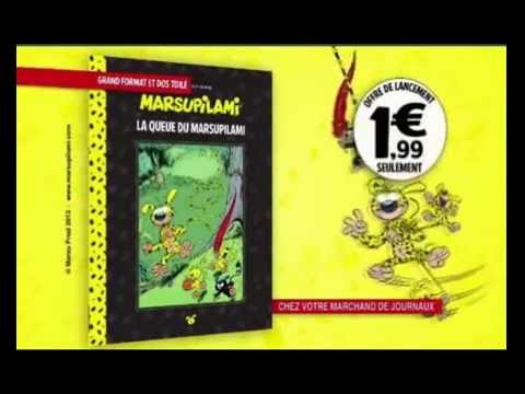 pub m6 collection hachette marsupilami youtube. Black Bedroom Furniture Sets. Home Design Ideas