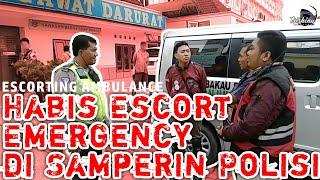 Download lagu Habis Escort Emergency, Di Samperin Pak Polisi | Escorting Ambulance #60