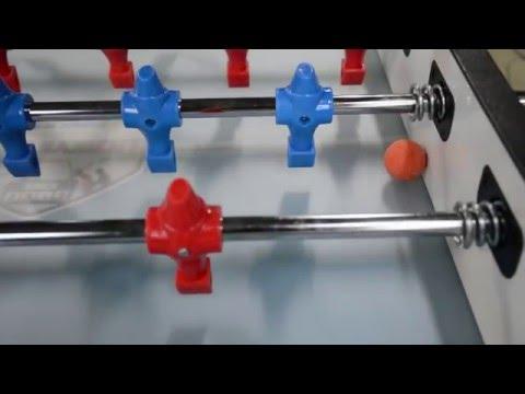 Техника игры в настольный футбол (кикер) отлипание мяча от борта. Школа мастерства.