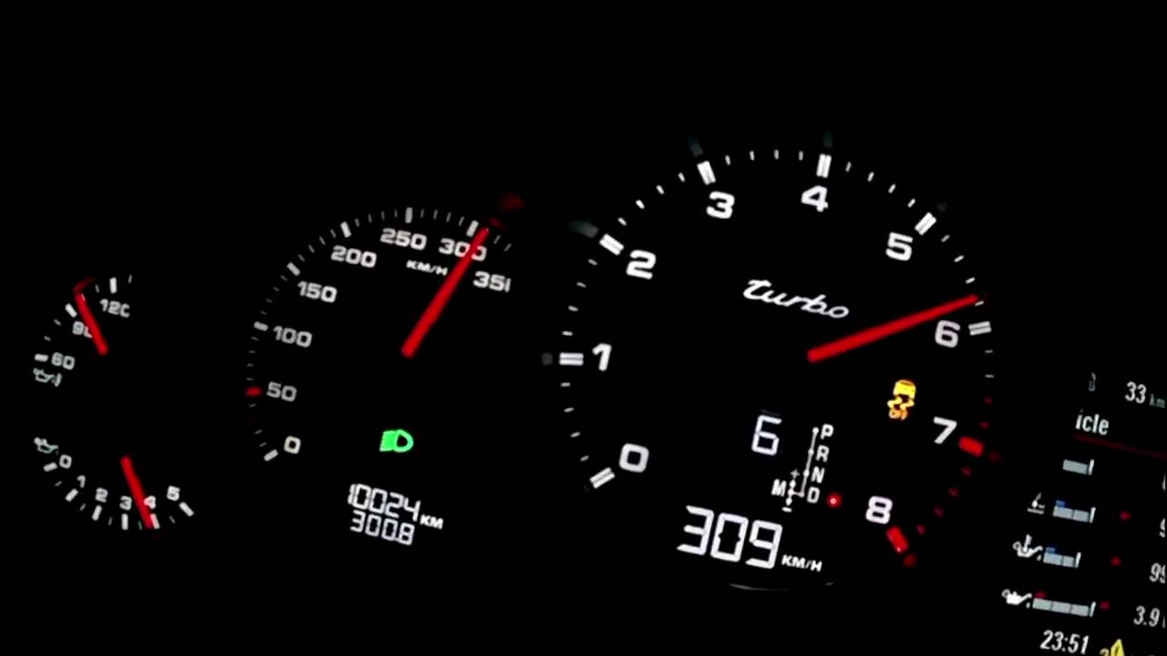2017 Porsche Panamera Turbo Acceleration Speed 0-315 km⁄h - YouTube